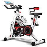 Product review for HARISON Pro Indoor Cycling Bike Belt Drive with iPad Holder, Stationary Exercise Bike Free Water Bottle by B1850