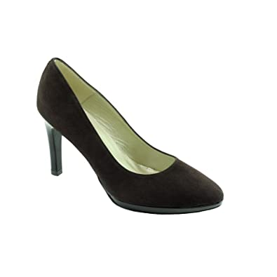 Angelina Tabatha - Escarpins Marron - Chaussures Escarpins Femme