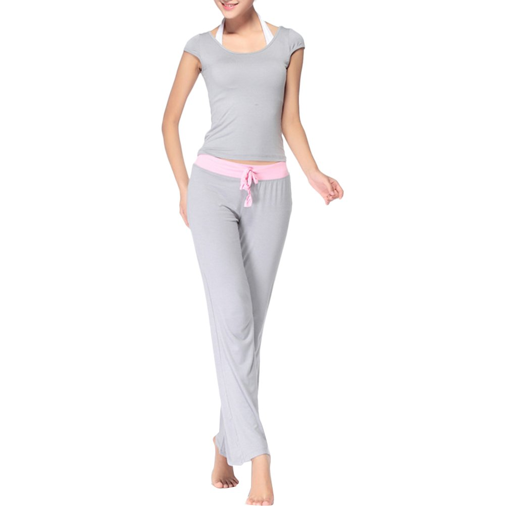 Zhuhaitf Fashion Design Womens 3 Pieces Soft Elastic Sports Yoga clothes Suits