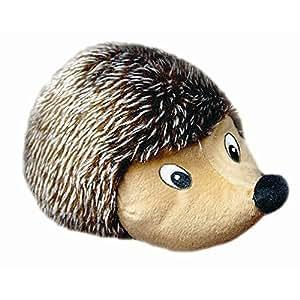 Pet Supplies : Pet Squeak Toys : Plush Hedgehog Dog Chew
