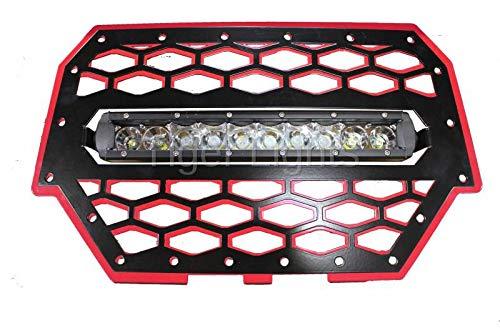 (Polaris RZR 900/1000 Red Grille Light & 10