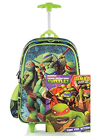 Amazon.com | Teenage Mutant Ninja Turtles TMNT Boys' Rolling ...