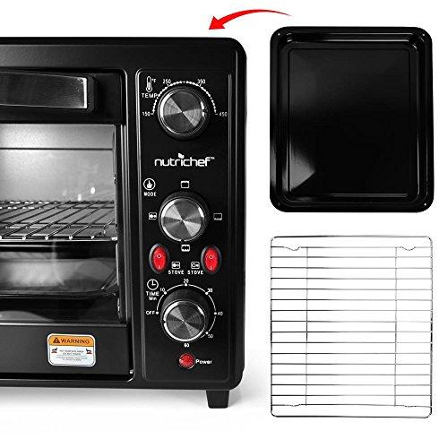 30 Quarts Kitchen Convection Oven 1400 Watt Countertop