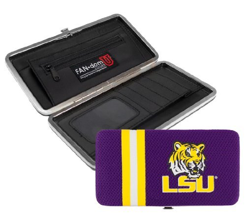 NCAA Louisiana State Fightin Tigers Shell Mesh Wallet   B01528SR7C