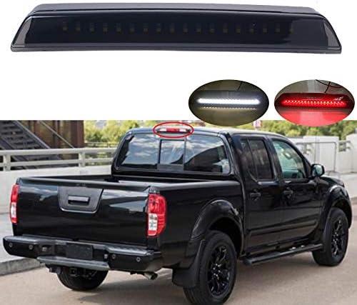 Smoke Lens LED 3rd Third Brake Light Cargo Lamp for 05-15 Nissan Frontier//Titan