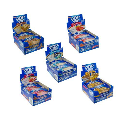 Kellogg's Pop-Tarts Display Pack Assortment, 21.75 Ounce (Pack of - Pantry Tart