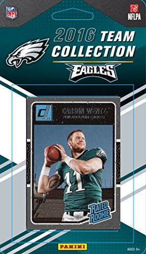 2016 Panini Donruss (12) Card Philadelphia Eagles Factory Team Set W/Rated Rookies (Rated Rookie Card)