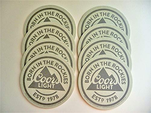 Coors Light Beer Coaster Set -