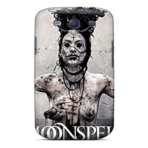 High Quality Hard Phone Covers For Samsung Galaxy S3 (ogx15667gRqd) Support Personal Customs Fashion Moonspell Band Morbid God Skin