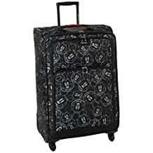 American Tourister Disney Mickey All Ages Spinner, Mickey Mouse Multi Face, Checked – Large