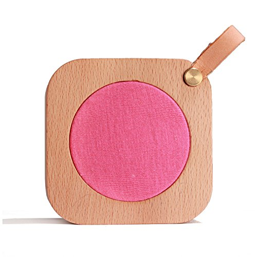 Aiweasi Simple Wooden Music Box For College Graduation Souvenir With Music of Castle in the Sky-Rose Red by Aiweasi (Image #5)