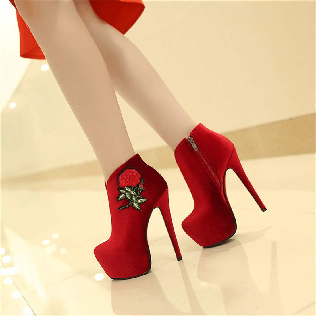 Stiefel   super high Heels Heels Heels für Frauen   sexy Damen hochhackige Stiefel 0265de