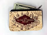 The Marauders Map Design Print Image Coin Purse Change Holder by Trendy Accessories