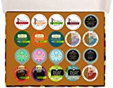 Crazy Cups Tea Sampler for Single-Cup Coffee for Keurig K-Cup Brewers, Gift Pack, 20 K-Cups