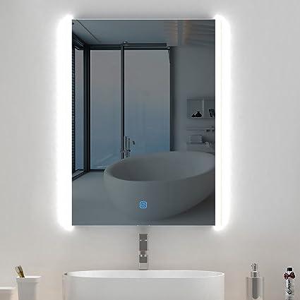 Amazon Com Stamo Backlist Led Lighted Mirror For Bathroom