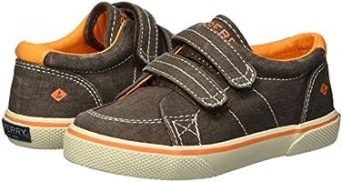 8.5 Medium US Toddler Brown Saltwash Sperry Boys Halyard H/&L Sneaker