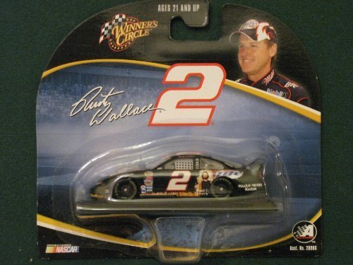 Winner's Circle #2 Rusty Wallace Nascar Miller Light Dodge Short Card (Rusty Wallace Nascar Card)