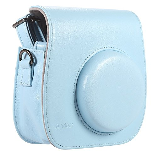 Andoer PU Leather Camera Case Bag Cover Single Shoulder Bag