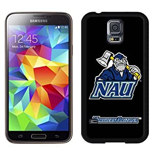 Fashionable And Unique Designed With NCAA Big Sky Conference Football Northern Arizona Lumberjacks 1 Protective Cell Phone Hardshell Cover Case For Samsung Galaxy S5 I9600 G900a G900v G900p G900t G900w Phone Case Black