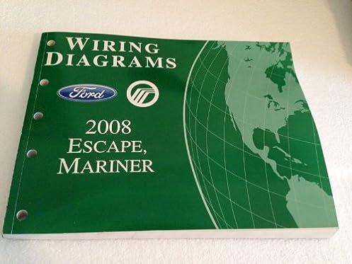 2008 ford escape \u0026 mercury mariner wiring diagram manual original Residential Electrical Wiring Diagrams