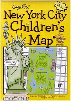 New York City Children's Map by Guy Fox: Kourtney Harper