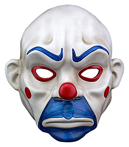 Maze Silicone White Red Blue Evil Looking Bald