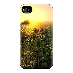 New HHaroldshon Super Strong Sun Over Paradise Tpu Case Cover For Iphone 4/4s