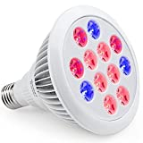 Cheap iHOVEN Plant Grow Light Bulb LED High Efficient Grow Lights Greenhouse Growing and Flowering Lamps for Indoor Garden and Hydroponic Plants Growing Lighting( E27 12w 3 Bands)