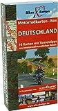 Motorradkarten Box Deutschland