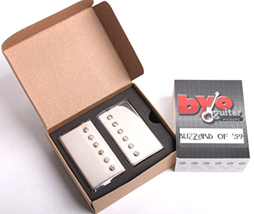 Blizzard of 59 - Vintage Humbucker Set - Nickel