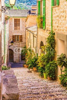 Mediterran Wohnen wunschmotiv altes dorf gasse treppe mediterran wohnen 103418233
