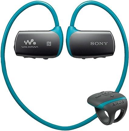 Black Sony NW-WS625 16 GB Waterproof Walkman MP3 Player with Bluetooth