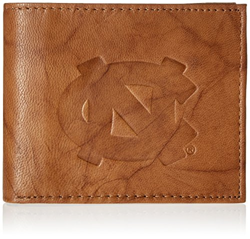 North Carolina Purse (NCAA North Carolina Tar Heels Embossed Genuine Leather Billfold Wallet)