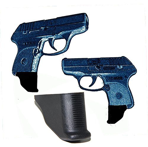 AmeriGun Club 2 Pack Grip Extension for Ruger LCP 380 1.25 Extra Long (Ruger LCP 380) (2 Packs)
