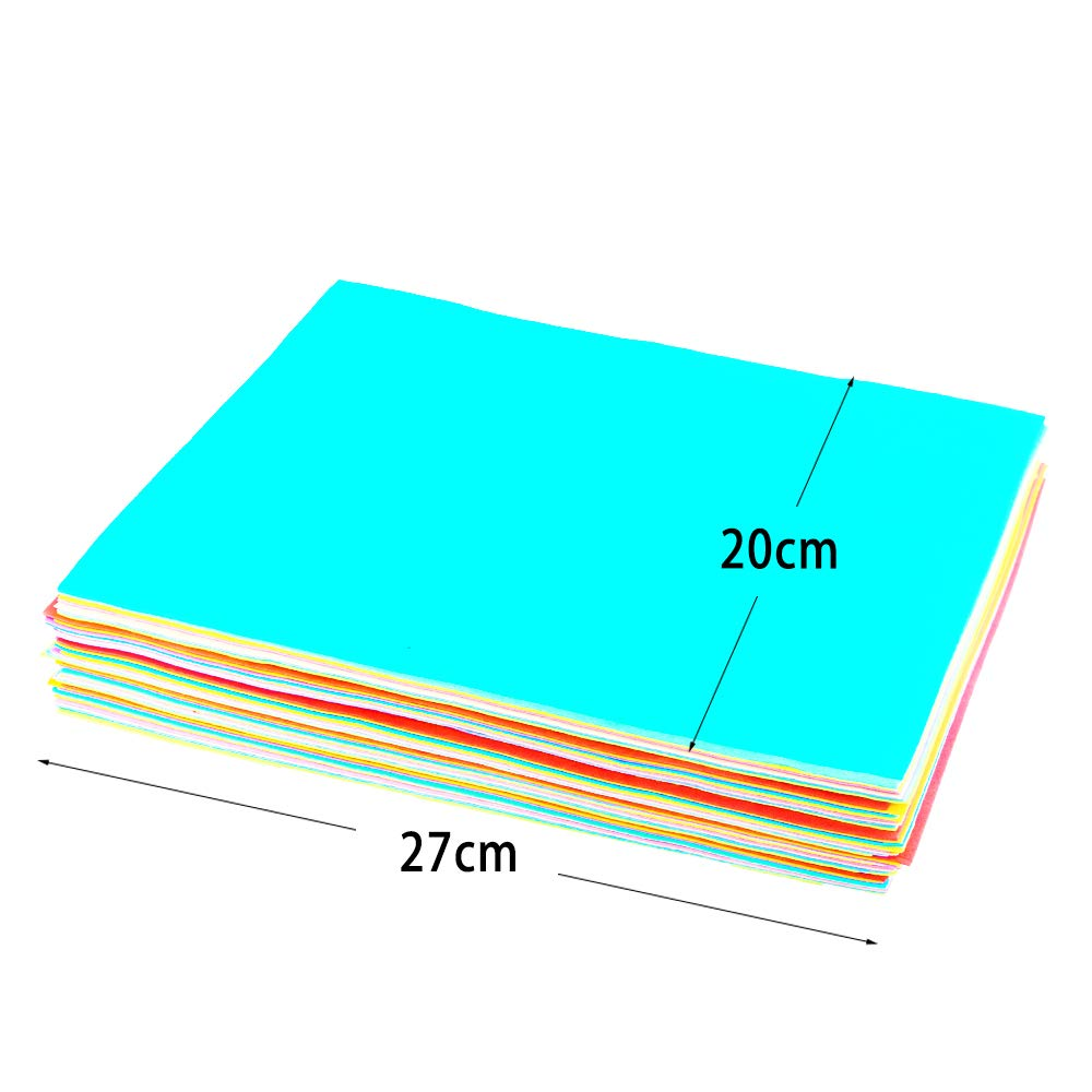 Classroom Foamie Sheets Rainbow Foam Handicraft Sheets Colorful Crafting Sponge For Arts DIY Projects Parties BcPowr 60PCS EVA Craft Foam Sheets 10Color, 11 x 8, with Animal Models Scrapbooking