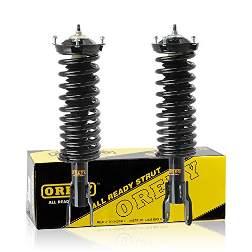 1989 1997 Ford Thunderbird Auto (OREDY Front Left & Right 2 Pieces Complete Quick Struts Shock Coil Spring Assembly Kit for 1989-1997 Ford Thunderbird)