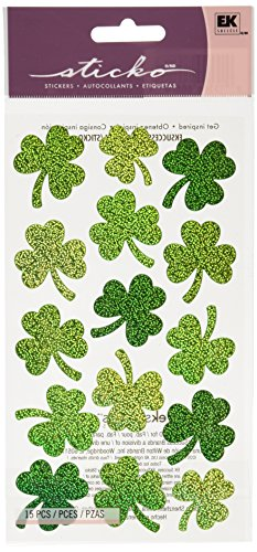 Sticko Large Shamrock Stickers