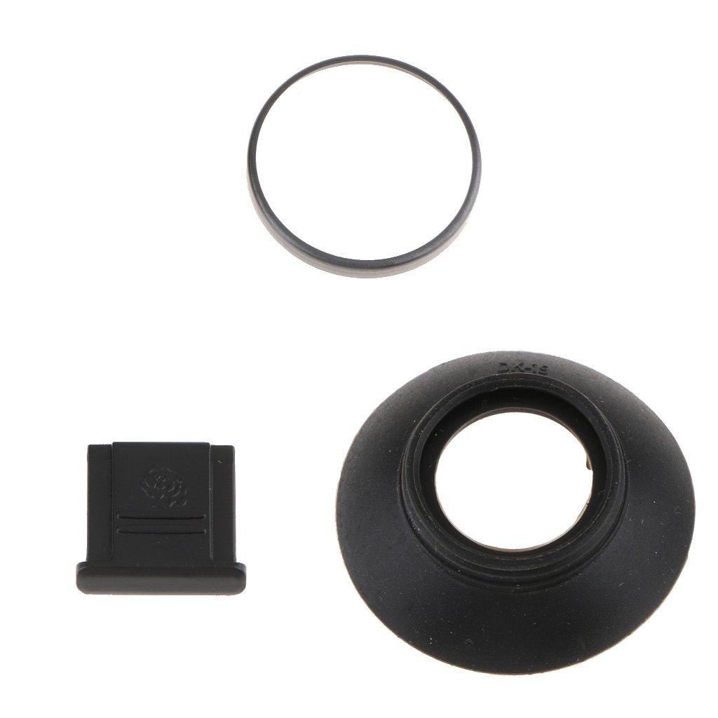 Prevenir el rascado de la M/áscara Ocular perfk Ocular Exclusivo Dise/ñado para Visor con Funda Protectora para Nikon D850//D500