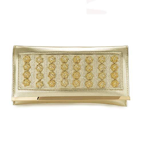 Vintage Bag for Women clutch crystal diamonds handle ladies gold handbags shoulder bag evening bags Style6