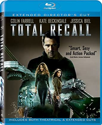 30ca45585 Amazon.com: Total Recall (Two Discs: Blu-ray + UltraViolet Digital ...