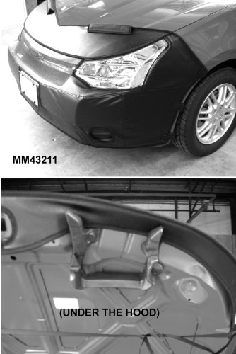 2dr Covercraft Covers Custom Fit - Covercraft Front End Mask Bra - 2PC System, Fits 2008 thru 2011 FORD FOCUS With OR Without FOG Lights (2dr AND 4dr)
