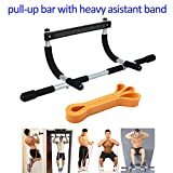 Door Gym Pull up Bar Assistant Band Whole Body Strength Workout