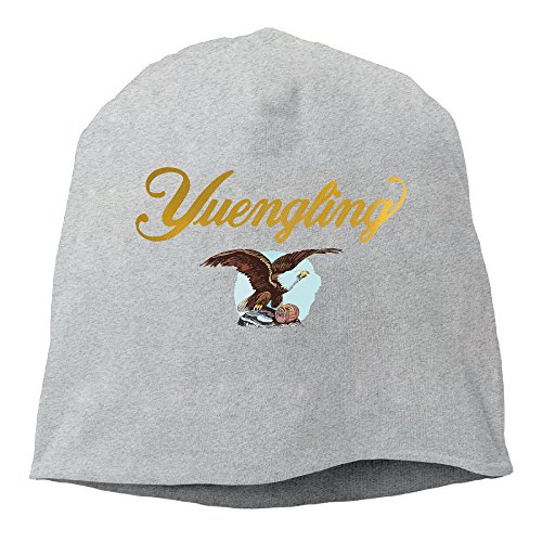 Unisex Yuengling Premium Beer Cool Skully Cap Slouch Beanie Hat Ash