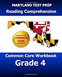 MARYLAND TEST PREP Reading Comprehension Common Core Workbook Grade 4, Test Master Test Master Press Maryland, 150046421X
