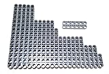 LEGO Technic Beams set LB gray size, 15, 11,9,7,6,5,3 (23 pieces)