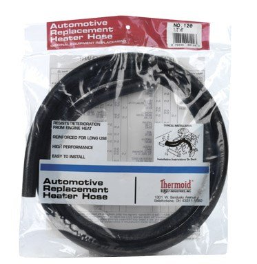 HBD INDUSTRIES 120 Auto Heat Hose, 1/2-Inch by 6-Feet