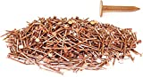 1'' x 11-GAUGE 2D SMOOTH COPPER ROOFING/SLATING NAILS 25lb