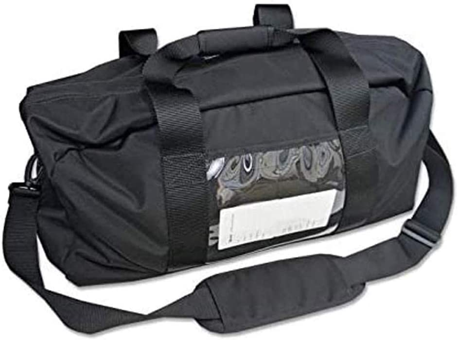 EDEC Faraday Duffel Bag, Large - Signal Blocking, Anti-tracking, Anti-spying, 5G RF EMF Radiation protection for Laptops, Tablets, Cell Phones, PC's and other electronics