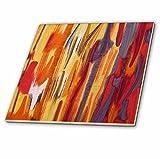 3dRose ct_31078_1 Melting Fires-Ceramic Tile, 4-Inch