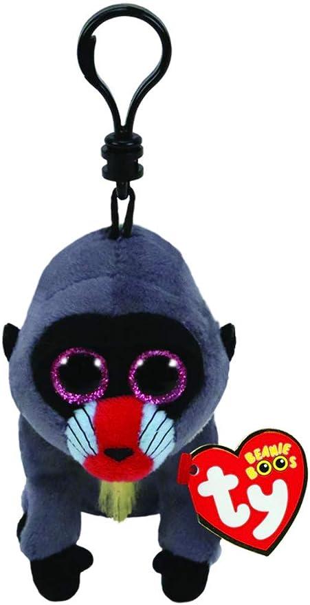 Ty Wasabi - Juguetes de Peluche (Mono de Juguete, Negro, Azul, Gris, Rojo, Beanie Boo, Mono, 130 mm): Amazon.es: Juguetes y juegos